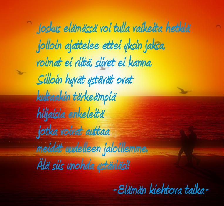 piristys runo ystävälle Pietarsaari