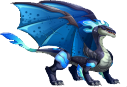 imagen del dragon viento nocturno