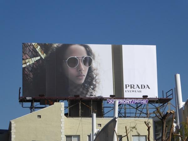 Prada Eyewear Spring 2016 billboard