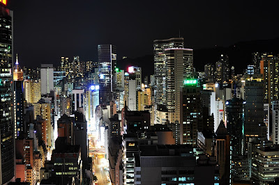 Hongkong at Night