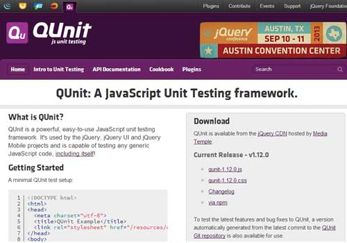 QUnit ~ 43 Useful and Time Saving Web Development Kits and Frameworks