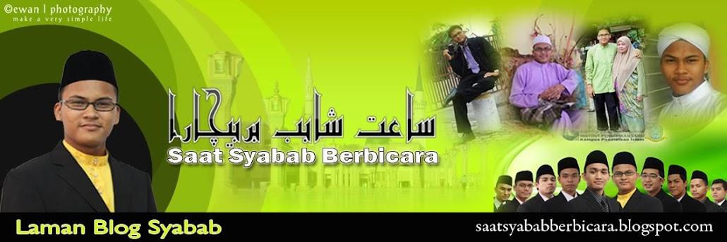 Saat Syabab Berbicara