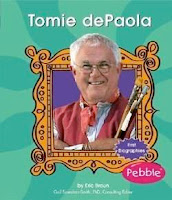 Biography - bookcover of TOMIE DePAOLA  by Eric Braun