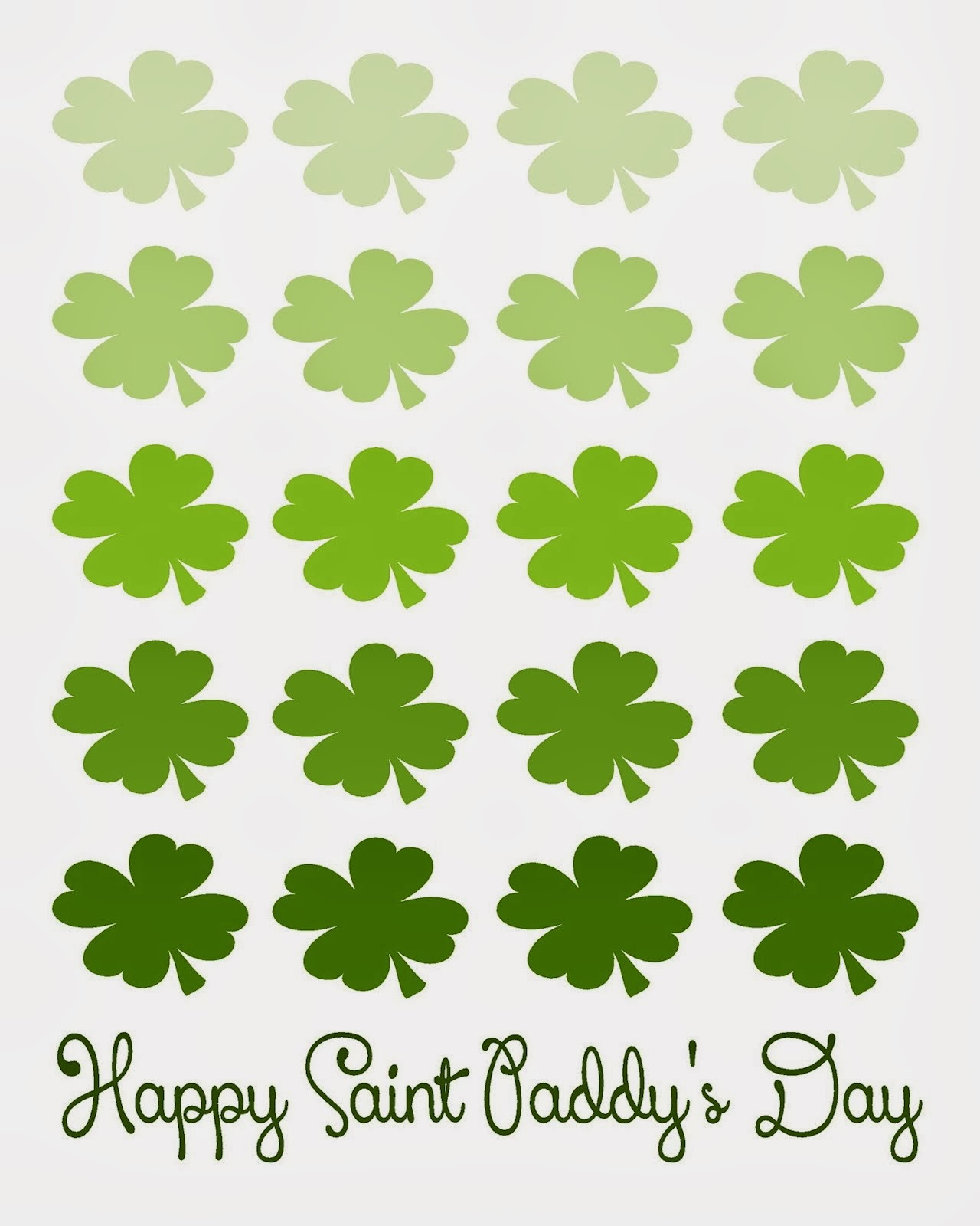 Free St. Paddy's Day Printables