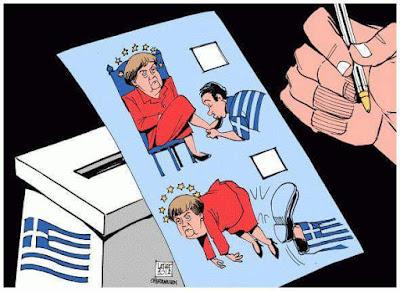 Se filtran las papeletas del Referéndum en Grecia