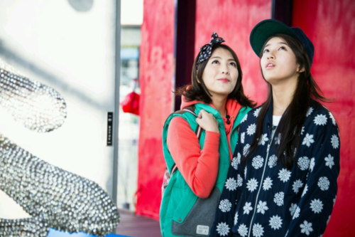"Bae Suzy and Kang Jiyoung (KARA) Picture ""Invincible Youth 2"""