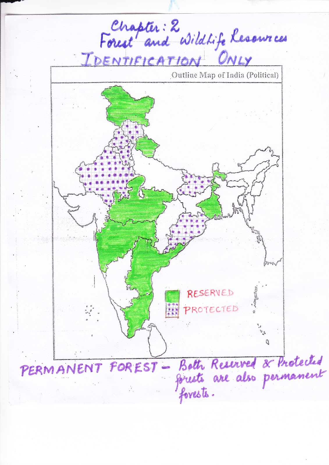 types of forests in india pdf