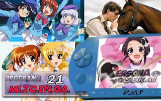 Persona No Sekai MiZoEnGa Programa 21 Podcast Anime