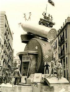 Falla Pintor Salvador Abril-Pedro III el grande. 1956