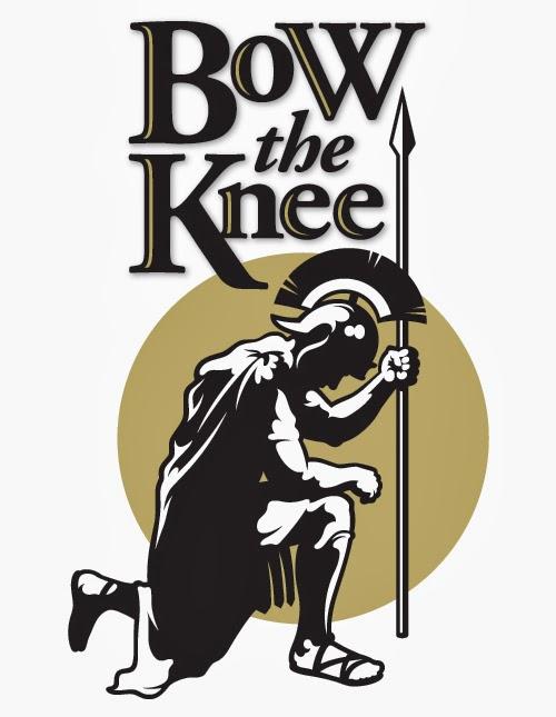 Illustrative Logo: Bow the Knee