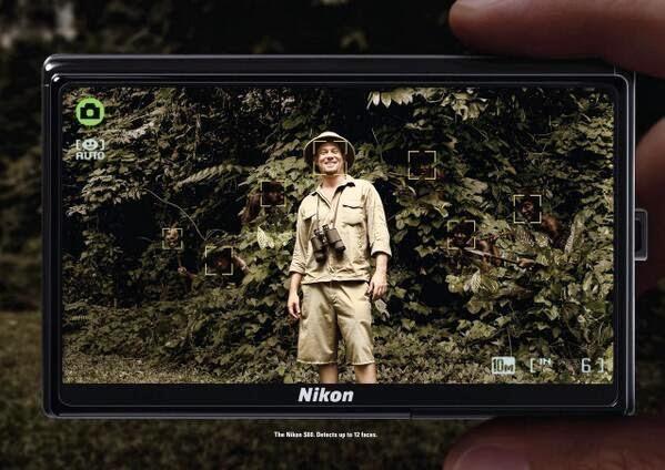 Publicidad creativa, Nikon