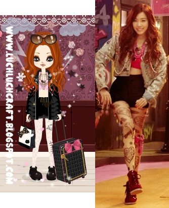 tiffany snsd i got a boy outfit