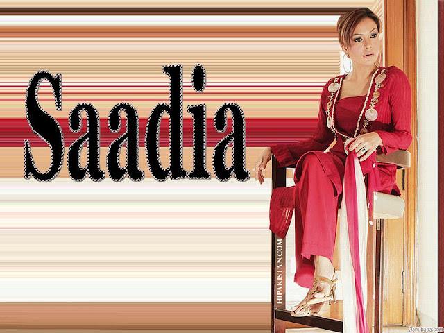 Pakistani sexy model Sadia Imam photos