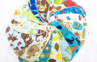 various diy homemade baby wipes displayed in a circular pattern