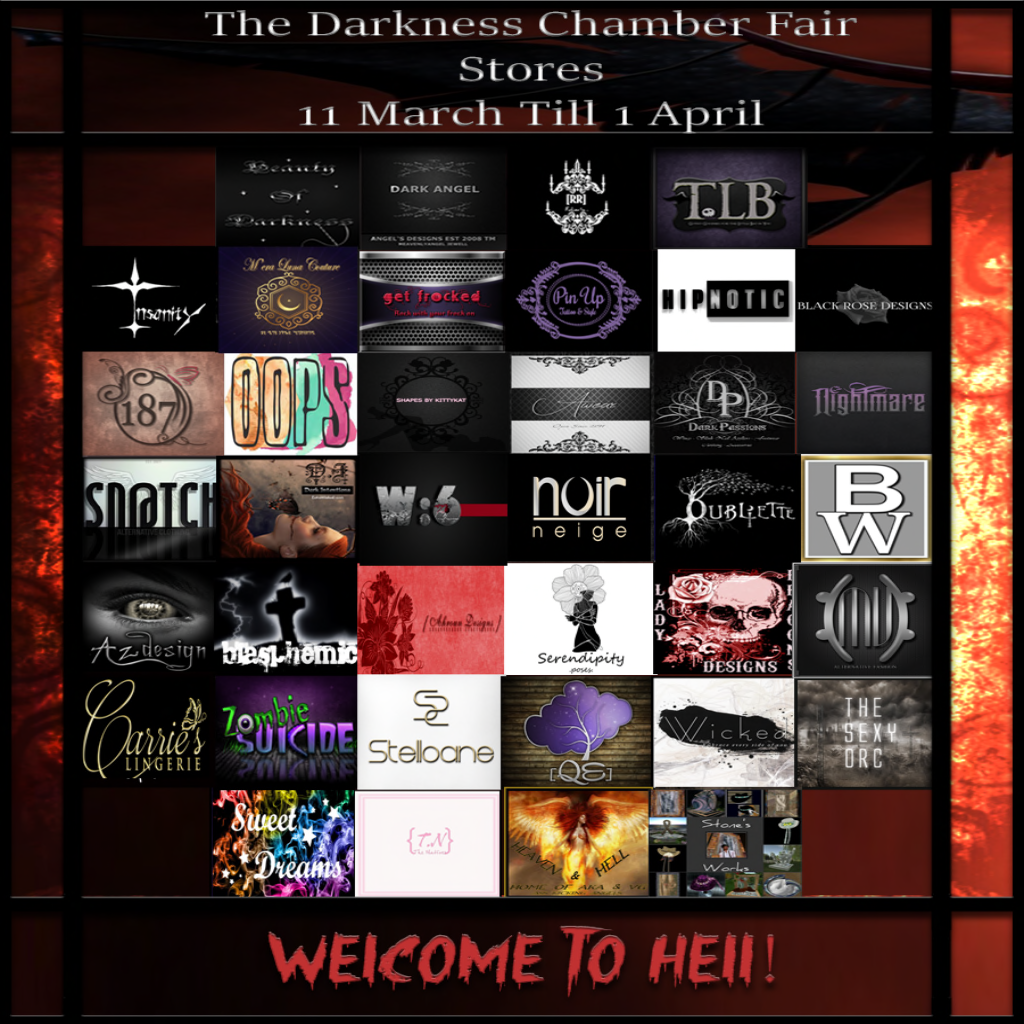 Darkness Chamber Fair -Welcome to Hell