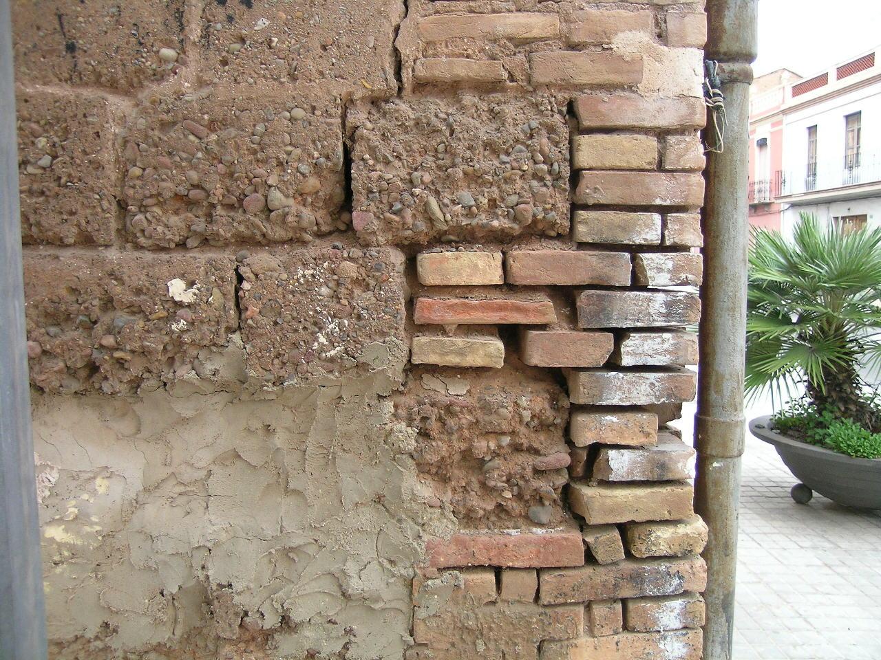 Bosco hurtado arquitecto restauraci n muros de tapial for Mortero para ladrillos