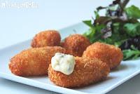 Croquetas de coliflor y queso de cominos