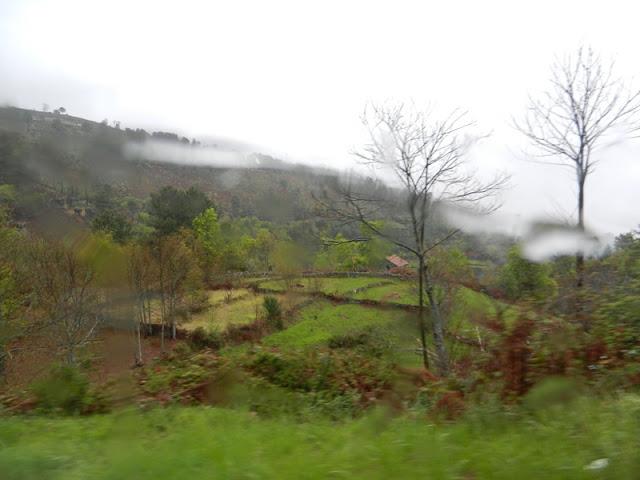 В горах долины Дору дождь