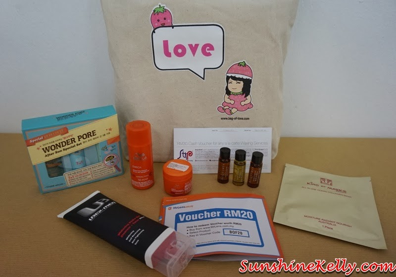 New Year New You with Bag Of Love Review, New Year New You, Bag Of Love, beauty bag, beauty review, Uber Men Whitening Hydra Gel Cleanser Toner Effect, Etude House Wonder Pore After Sun Special Set, Wella Professional Enrich Moisturizing Shampoo, Moisturizing Treatment, Alqvimia Body Sculptor Oil, anti cellulite body oil, shape reducer body oil
