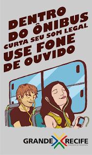 Dentro do ônibus curta seu som legal. Use fones de ouvido.