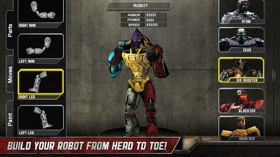 Real Steel HD Apk Data For Android