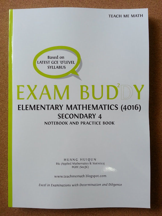 Exam Buddy (E Math Sec 4) 2nd Ed, 2nd Print