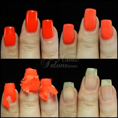 Manic talons nail design madam glam uv gel soak off gel for Acrylic nail removal salon
