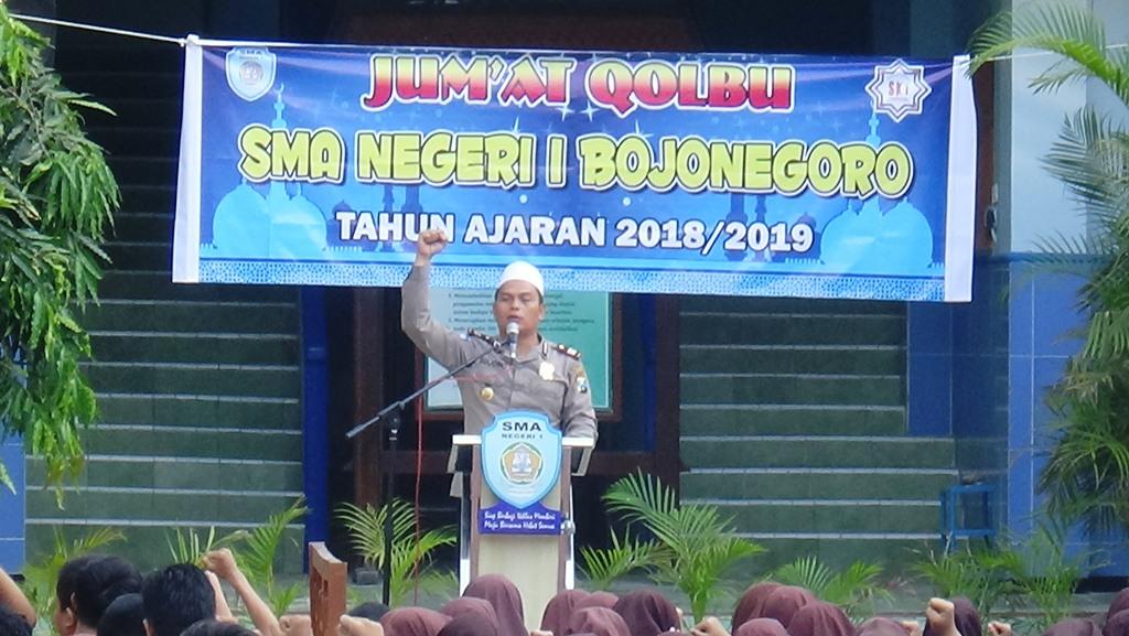 Jumat Qalbu Kasat Binmas Polres Bojonegoro