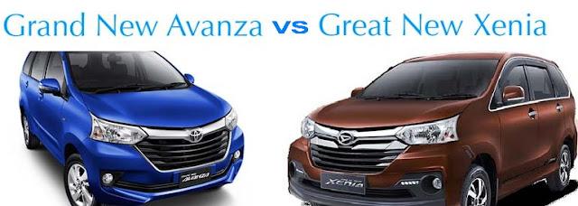 Inilah Perbedaan Grand New Toyota Avanza dan Great New Daihatsu Xenia
