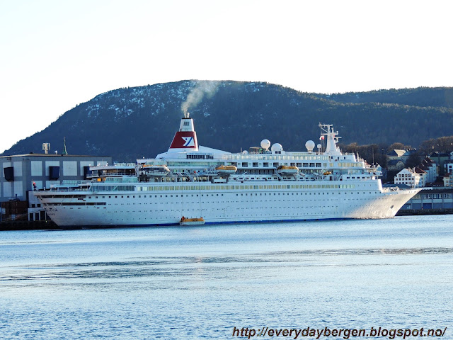MS Boudicca in Bergen