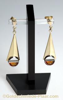 Ohrhänger,Citrin,Goldschmiede