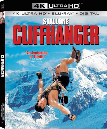 CLIFFHANGER 25th Anniversary On 4K Ultra 1/15