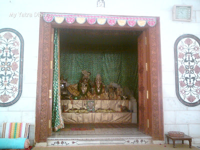 Main deity room at Raman Reti, Gokul-Mathura,Uttar Pradesh