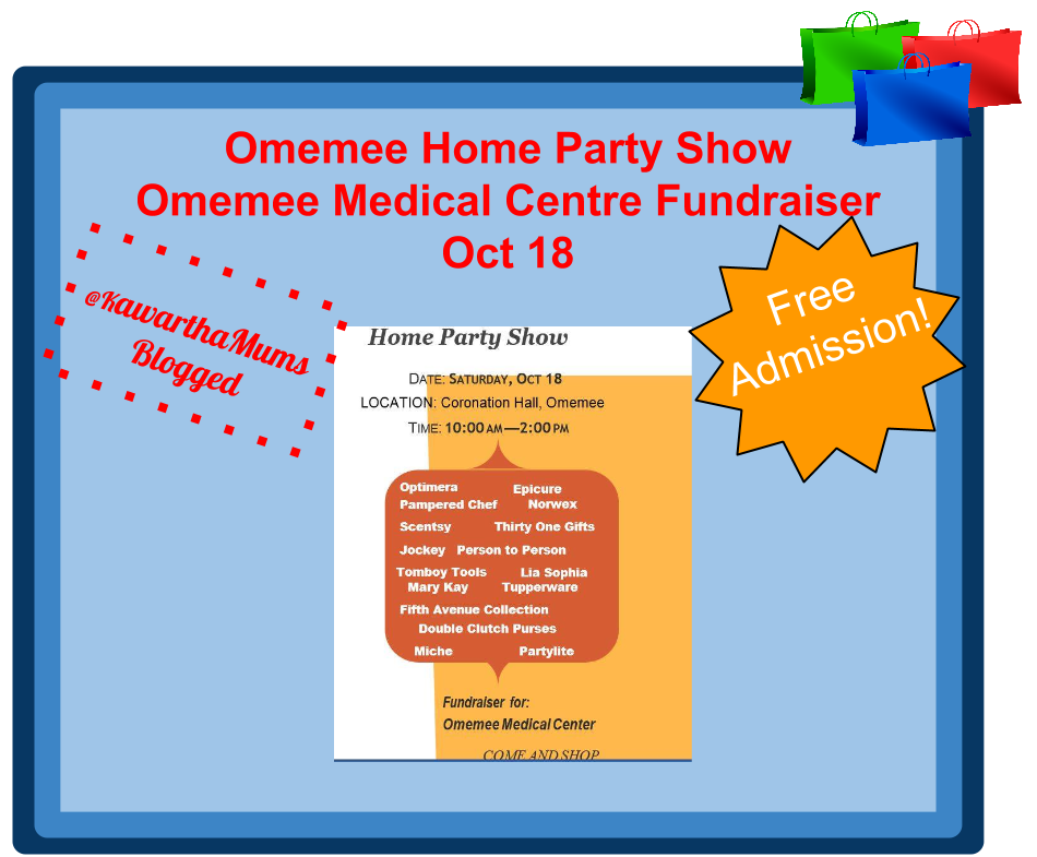 Kawartha Lakes Events - Omemee Home Party Show Oct 18
