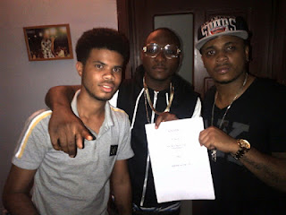 Davido signs 'cousin rapper' Sina Rambo to his music label, HKN