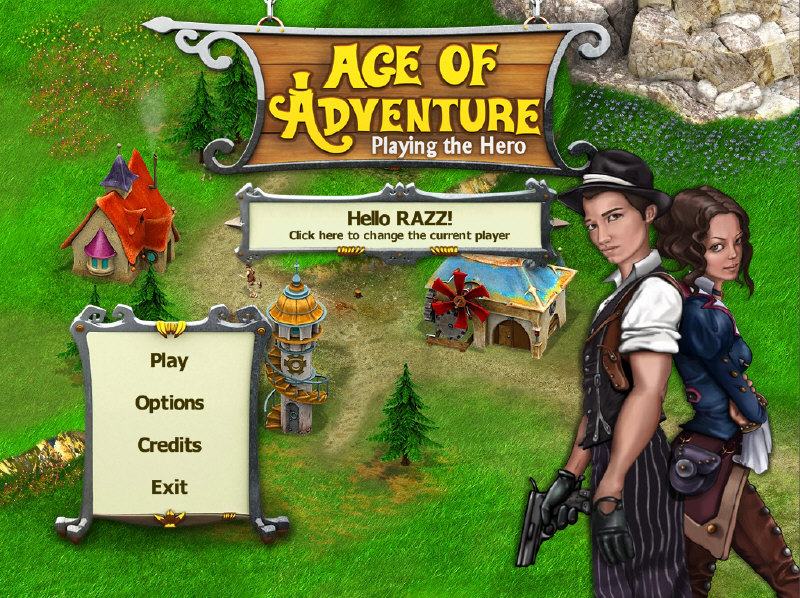 Age of Adventure - Playing the Hero [PC] [MULTI]