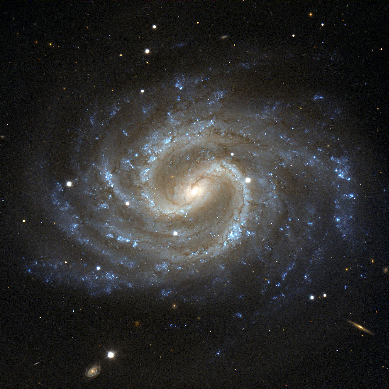 Jean Baptiste Faure Spiral Galaxy Ngc 4535