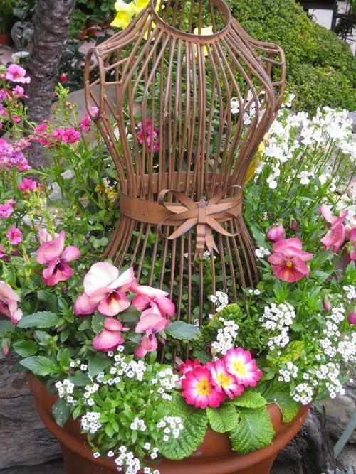 Decoración de Jardines al estilo Vintage