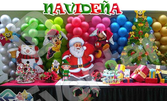 Decoraci n navide a para fiestas infantiles imagui for Decoracion navidena infantil