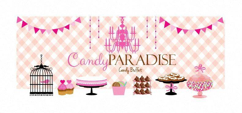 Candy Paradise (Candy Buffet & Chocolate Fountain)