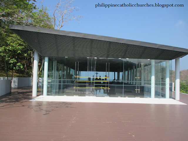 GLASS CHAPEL OF SAINT THERESE OF THE CHILD JESUS, Pico de Loro, Nasugbu, Batangas, Philippines