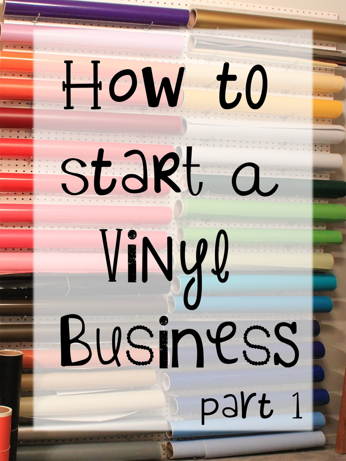 Vinyl expressions how to start a vinyl business part 1 for Cricut crafts to sell
