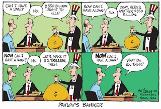 Cartoon: How much money do banks need before they will make loans?