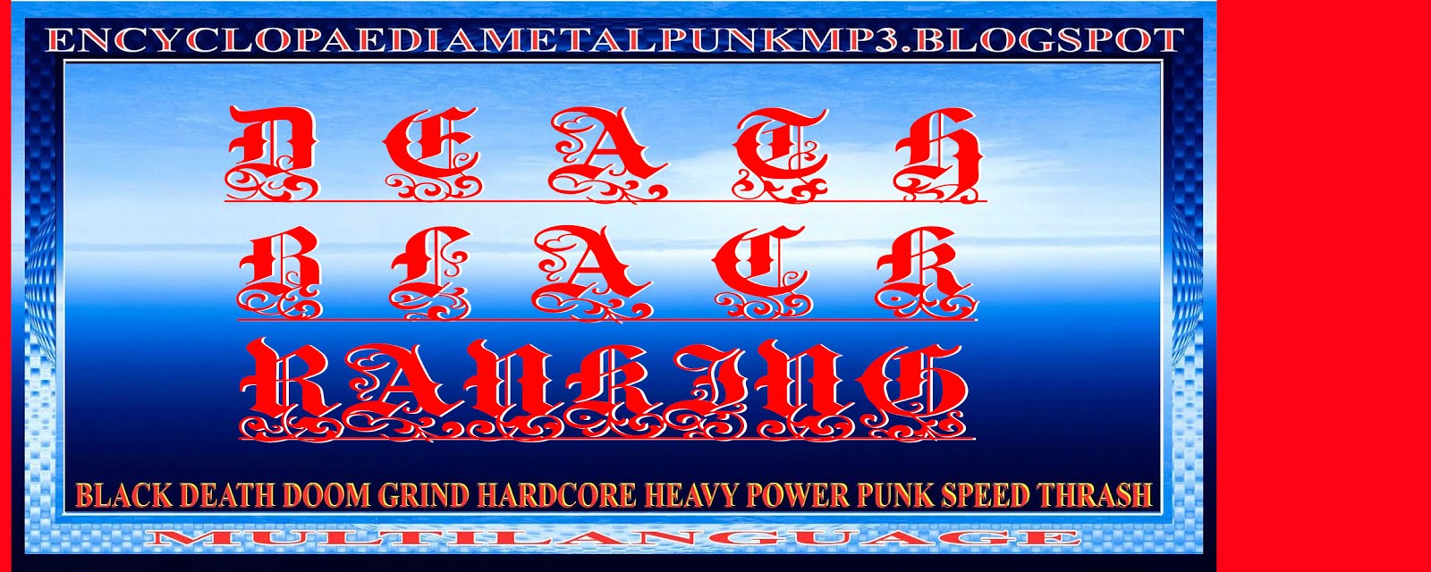 ENCYCLOPAEDIA DEATH BLACK RANKING MP3 BLOGSPOT