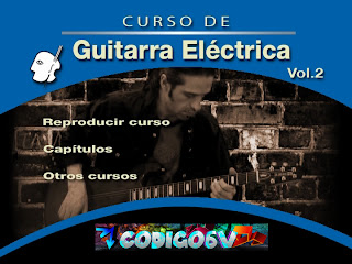 Curso de Guitarra Electrica Vol. 2 (Virtuosso) [DVD] [FS]