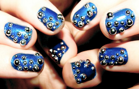 Decorated Halloween Nails Styles Usa Nails Art Design Games