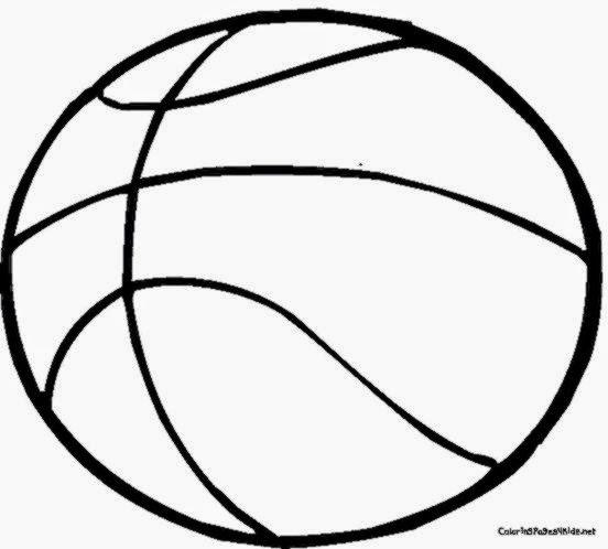 Basketball Printable Coloring Pages Sheets Free Sheet