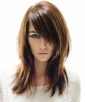 Uzun kat kat kat saç kesimi modelleri 2013 2014
