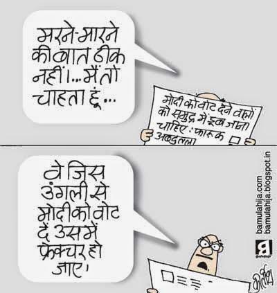 narendra modi cartoon, election 2014 cartoons, voter