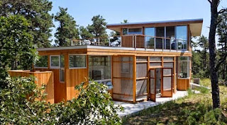 บ้านพักตากอากาศ ขนาดเล็ก